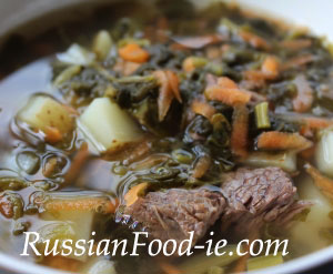 French sorrel soup recipe