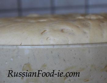 Russian yeast dough recipe for Russian pirozhki (pies)