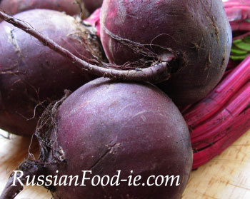 Beetroot is a widely used ingredient in Russian cuisine