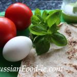 Armenian lavash rolls