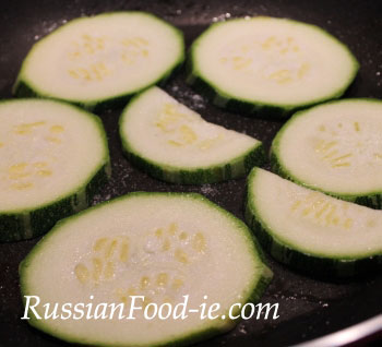 Marrow vegetable recipe: pan fried marrow