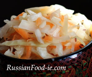 Sour (pickled, salted) cabbage recipe. Making Russian Sauerkraut